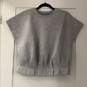 COS Grey Sleeveless Sweater
